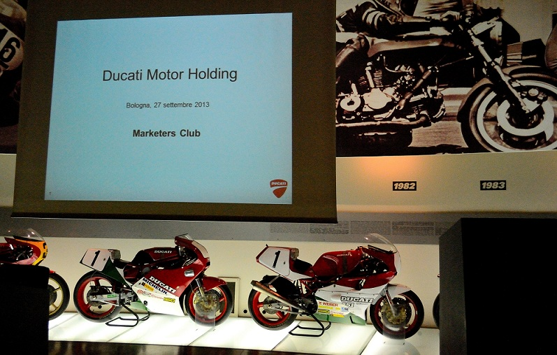 ducati marketers presentazione