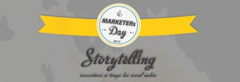 marketers day 2013 storytelling