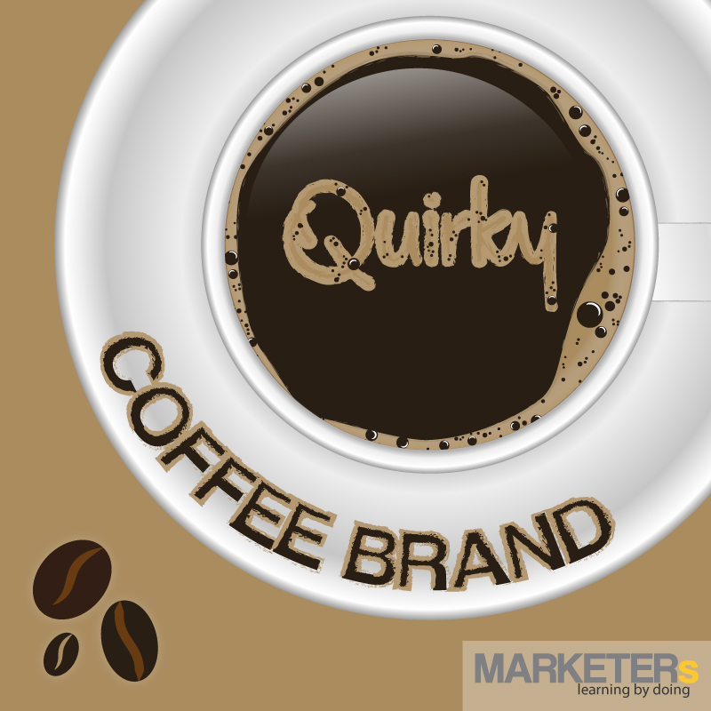 Coffee brand quirky crowdsourcing e-commerce
