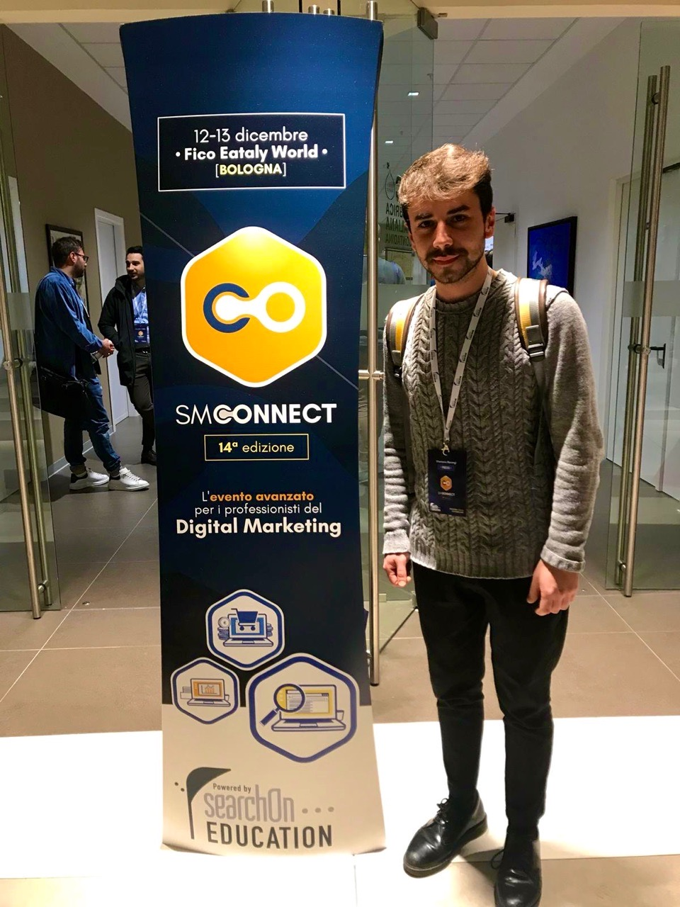 Search Marketing Connect 2019 Bologna Media Partnership MARKETERs Club